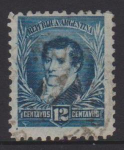 Argentina Sc#112 Used