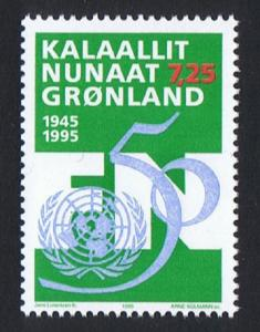 Greenland 50th Anniversary of the United Nations SG#279 MI#259 SC#288