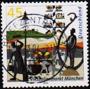 Germany. 2003 45c S.G.3231 Fine Used