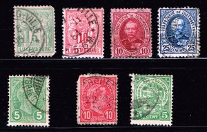 LUXEMBOURG STAMP OLD USED STAMPS COLLECTION LOT