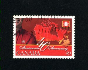 Canada #2032  -4  used VF 2004 PD
