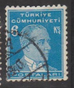 Turkey Sc#746 Used
