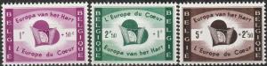 Belgium #B638-40 MNH CV $2.75  (A17534)