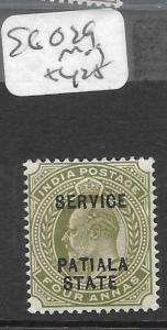 INDIA PATIALA (P2602B) KE SERVICE 4A  SG O29  MOG