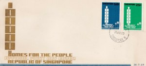 SG11 SINGAPORE 1969 1,000 HOMES FOR THE PEOPLE     FDC
