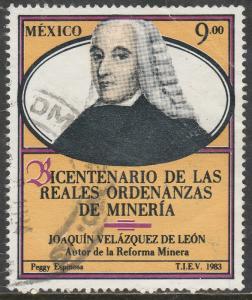 MEXICO 1343, Bicentenary Royal Mining Decree. Used. (1016)