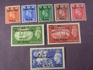 GREAT BRITAIN/BOA/TRIPOLITANIA # 27-34-MINT/HINGED--COMPLETE SET--1951