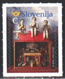 Slovenia. 2019. 1391 from the series. Dolls, Christmas. MNH.