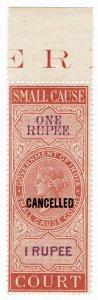 (I.B) India Revenue : Small Cause Court 1R (specimen)