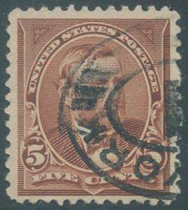 US Scott #255 Used, FVF