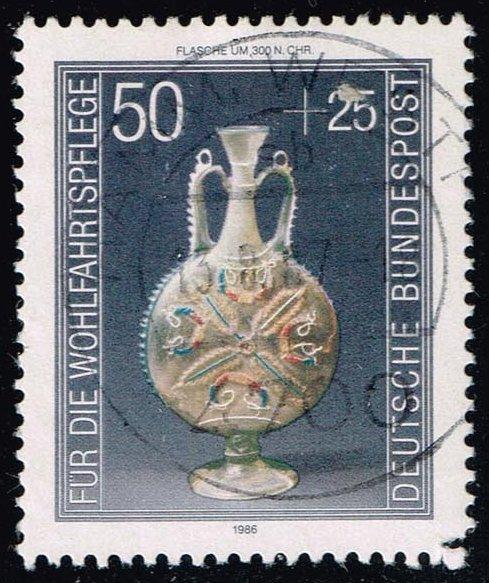 Germany #B647 Ornamental Flask; Used (0.60)