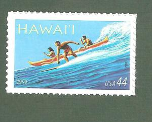 4415 Hawaii Statehood US Single Mint/nh Free Shipping