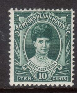 Strong-Willed Newfoundland #84 Mint Vf Stamps Canada