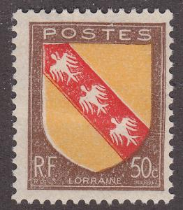 France 564 Lorraine Coat of Arms 1946