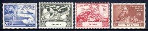 Tonga - Scott #87-90 - MNH - SCV $3.25