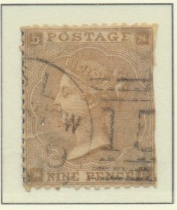 Great Britain Stamp Scott #40, Used, Faults - Free U.S. Shipping, Free Worldw...
