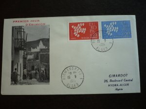 Europa 1961 - France - Algeria - Set - First Day Cover