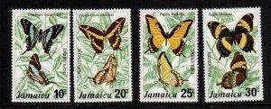 Jamaica  398 - 401  MNH cat $ 6.05