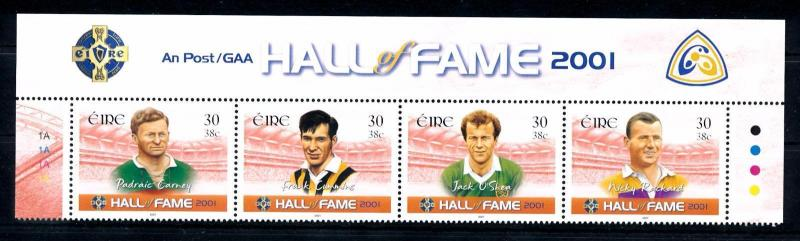 [43107] Ireland 2001 Sports Hurling Gaelic Football MNH