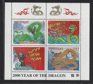 2651a 2000 Year of the Dragon CV$3