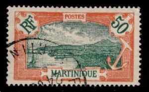 Martinique Scott 86 stamp Used