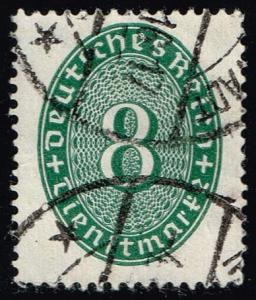 Germany #O67 Official - Numeral; Used (0.75)