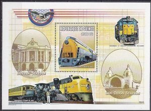 2000 Guinea 2917/B633 Locomotives 8,50 €