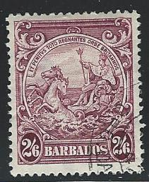 Barbados USED  S.C.#   201