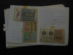 KUWAIT : Group of Mint & Used singles & sets on Old Time approval pages.