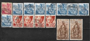 COLLECTION LOT OF 15 GERMANY  RHINE PALATINATE 1947+ STAMPS CLEARANCE CV+ $15