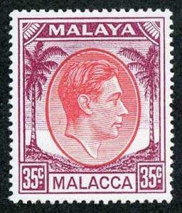 Malacca SG12a KGVI 35c M/M