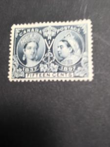 Canada USC #58 Mint Cat. C$400. 1897 15c Jubilee O.G. Well Centered Fresh & VF-H