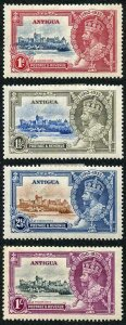 Antigua SG91/94 1935 Silver Jubilee Set M/M