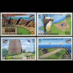 MONTSERRAT 1981 - Scott# 461-4 Fort Set of 4 NH