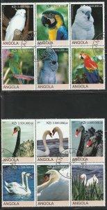 Angola Birds Used No Catalogue