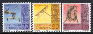 Liechtenstein 1215-1217 MNH VF