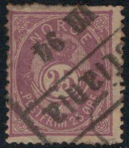 Norway #45 minor defects  CV $30.00