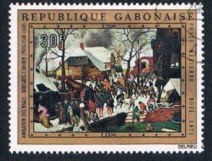Gabon Christmas painting 30f - pickastamp (AP101811)