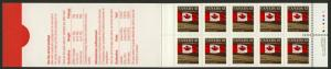 Canada 1359xi Booklet BK153Cd MNH Flag over Field