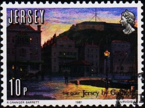 Jersey. 1981 10p S.G.280 Fine Used