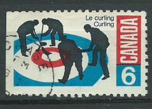 Canada SG 632  FU imperf left