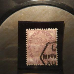 GB 88 1p lilac 1881 fine used