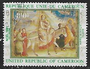 Cameroon - # C299 - Flight into Egypt - used....{BRN9}