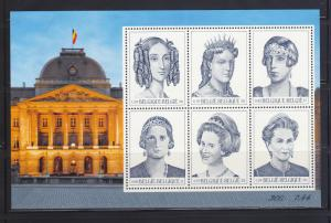 Belgium 1842 Set MNH Queens