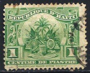 Haiti 1906 Scott# 125 Used