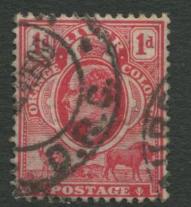 Cape of Good Hope- Scott 64 -KEVII Definitive -1902 -Used - Single - 1p Stamp