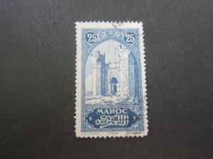 French Morocco 1917 Sc 62 FU