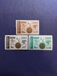 Sudan 176-6 VFMH complete set, CV $3.20