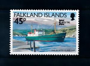 [72022] Falkland Islands 1996 Mail Delivery by Ship From Set MNH