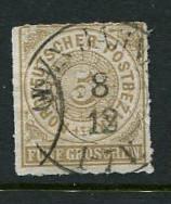 North German Confederation #6 Used (Box1)